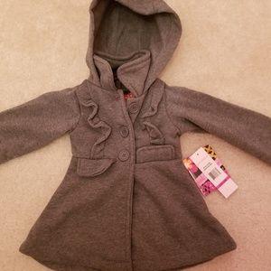 FINAL PRICE! Girls Grey super cute peacoat Jacket